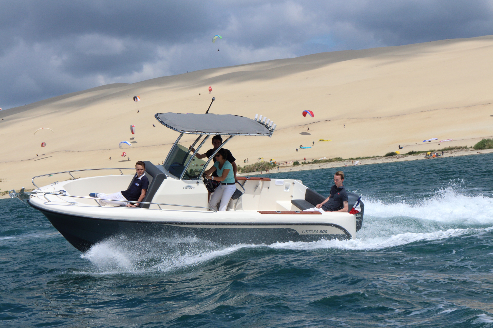 OSTREA 600 T-Top Arcachon bay