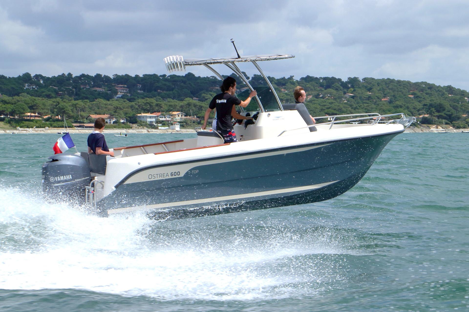 bateau  u00e0 moteur ocqueteau ostrea 600 open t-top