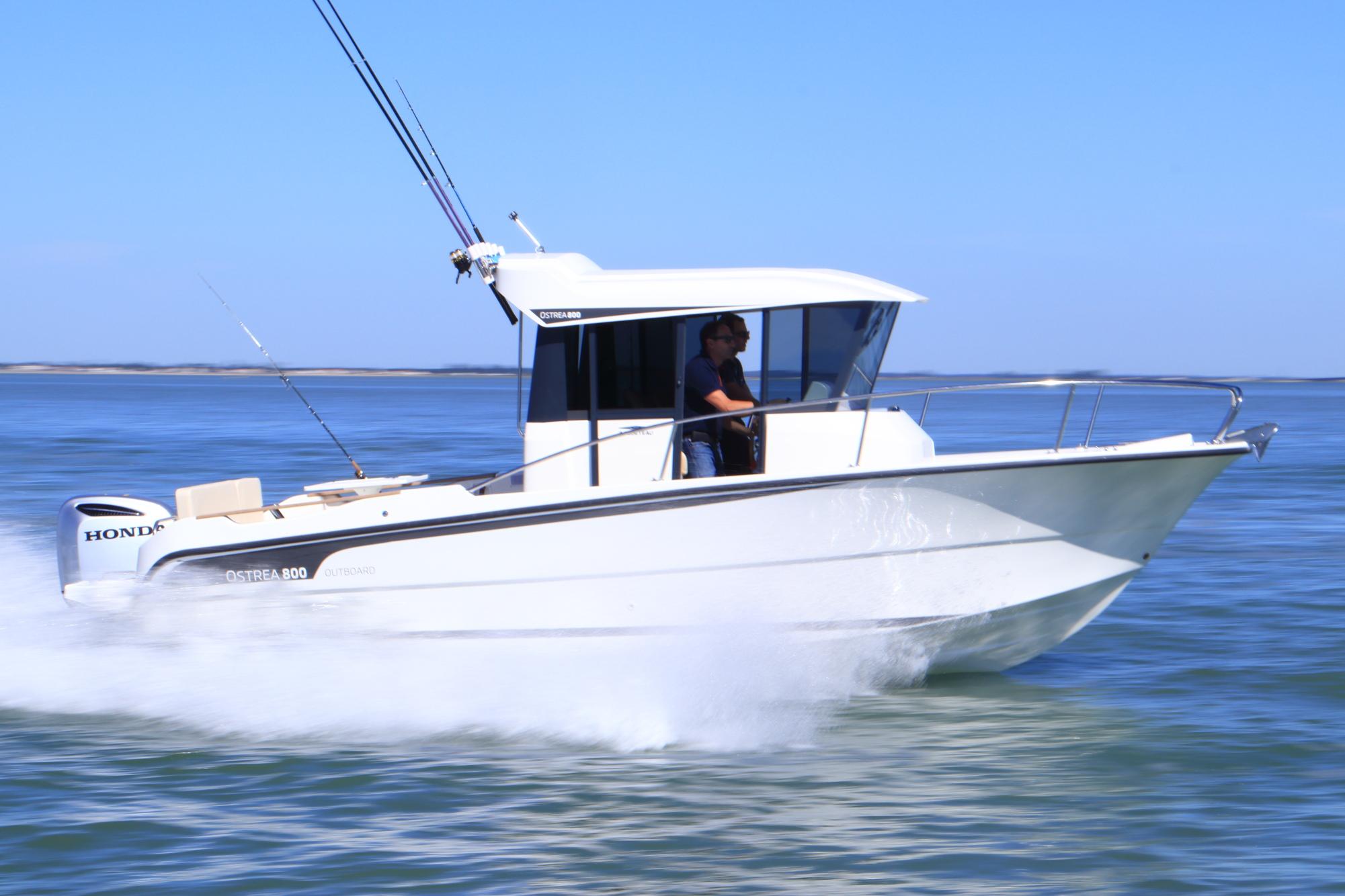 bateau  u00e0 moteur ocqueteau ostrea 800 hors-bord