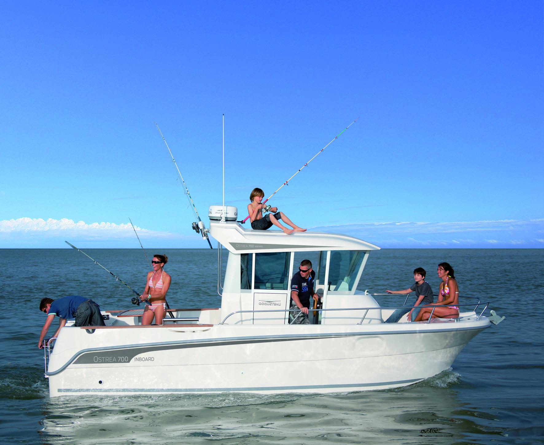 bateau  u00e0 moteur ocqueteau ostrea 700 inboard - notre gamme