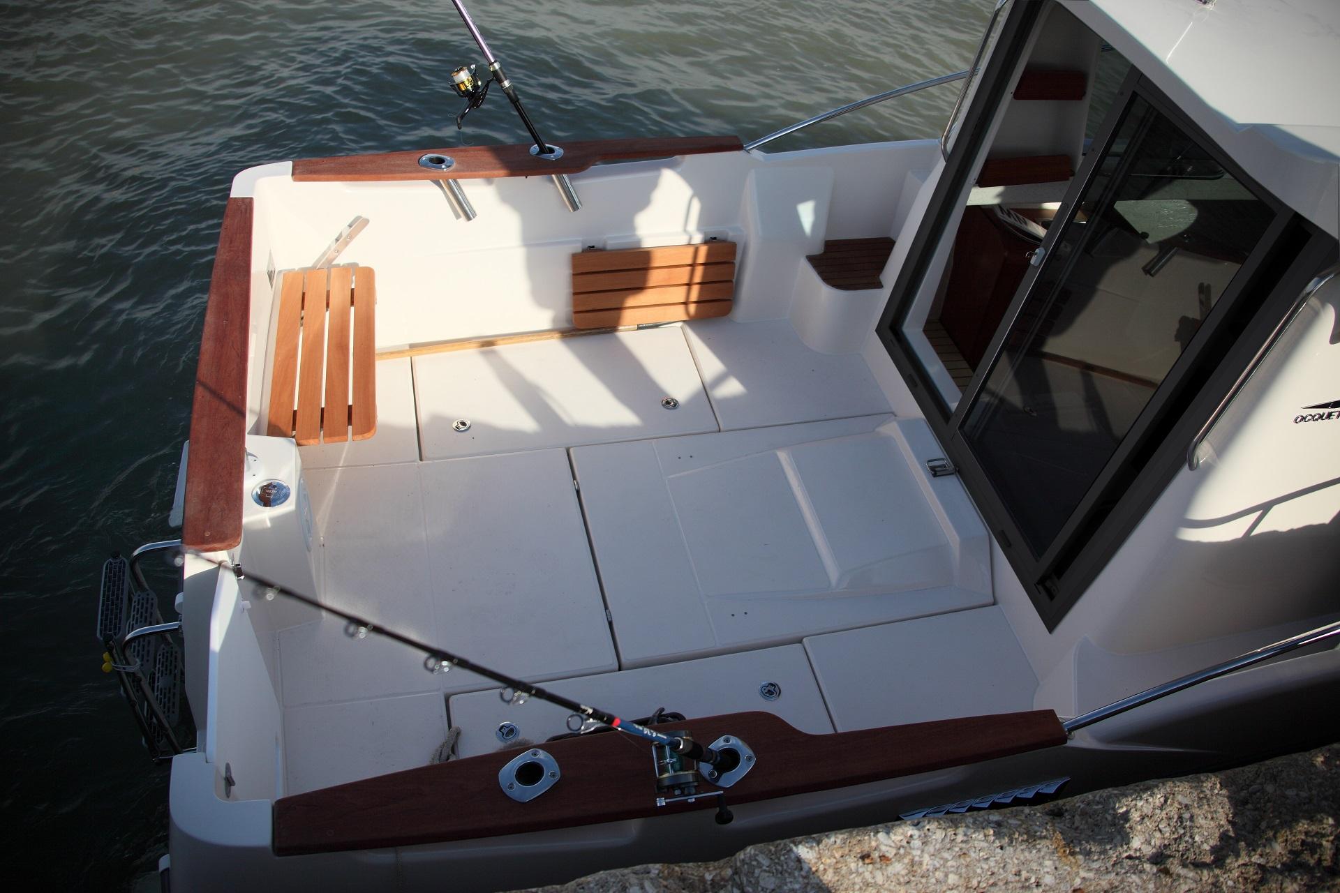 bateau  u00e0 moteur ocqueteau timonier 625 inboard - notre gamme