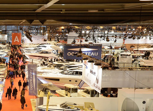 Salon nautic de paris actualit s ocqueteau for Salon bateau paris