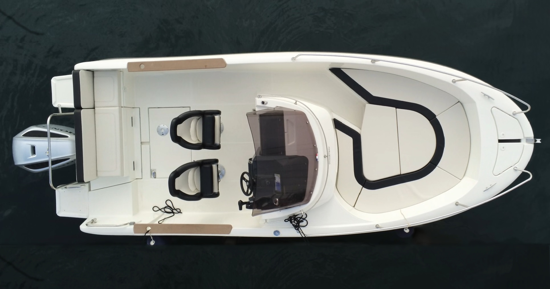 bateau  u00e0 moteur ocqueteau abaco 650 open